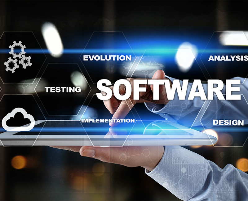 Abstract image representing software design