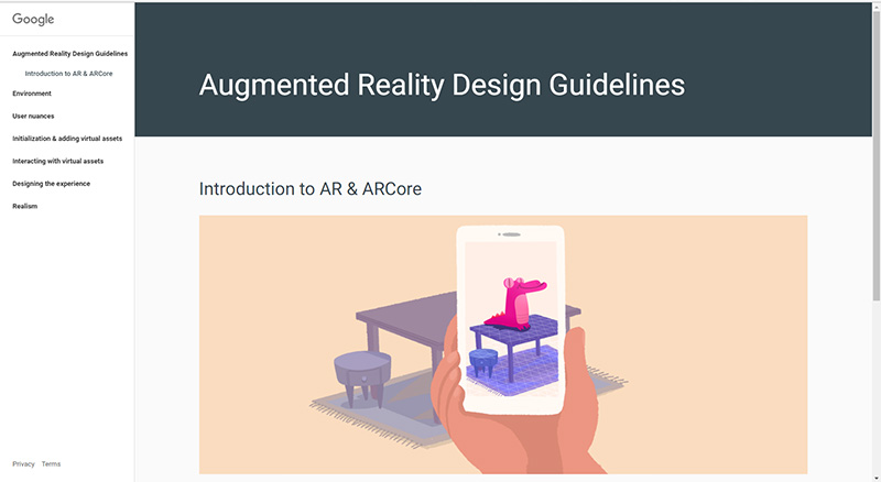 Augmented Design Guidelines