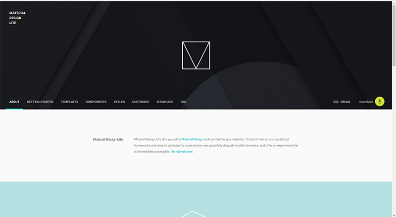 MDL - Material Design Lite