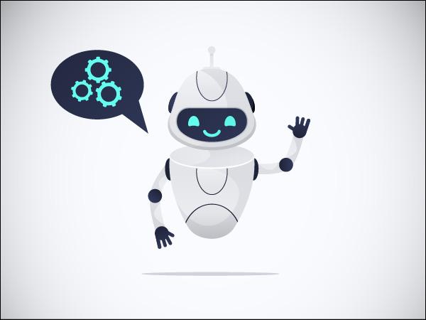 Chatbot says hello