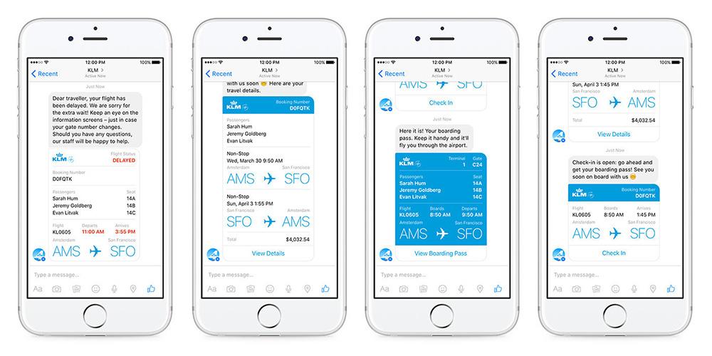 KLM Book a Flight Chatbot