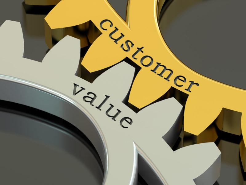 Symbolic representation of customer value